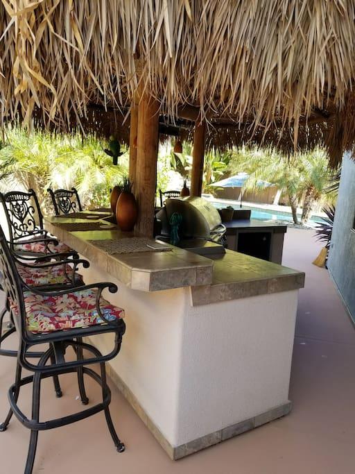 Tiki bar and BBQ