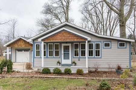 Big Lake Country Cottage - South Haven - Talo