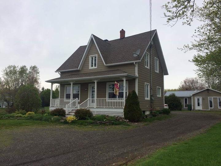Maison dans la Baie-des-Chaleurs