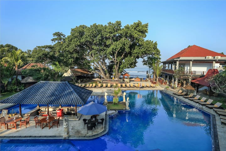 Appealing Double Or Twin Deluxe At Seminyak