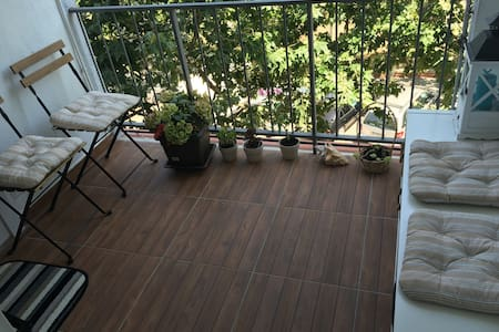 Barcelona Zimmer mit privat Bad - Badalona - Apartament