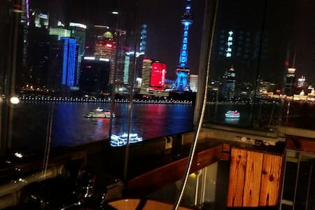 Nice River View Bathtub Balcony 美好江景房浴缸带阳台 - 上海 - 公寓