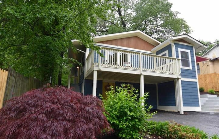 Charming home in suburban forested Takoma Park, MD