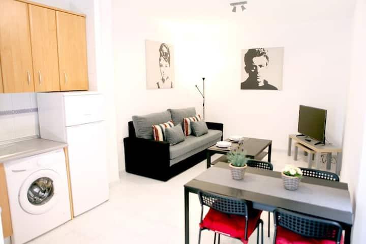 3.Apartamento de 1 dormitorio en Sevilla.