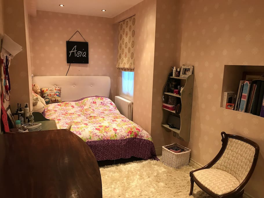 Private bedroom double bed