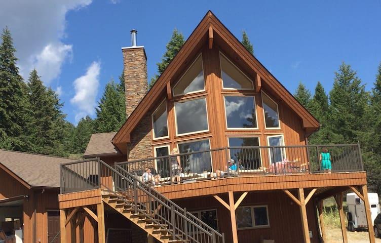 Luxury Lake House, Lake Koocanusa near Wardner - Wardner - Maison