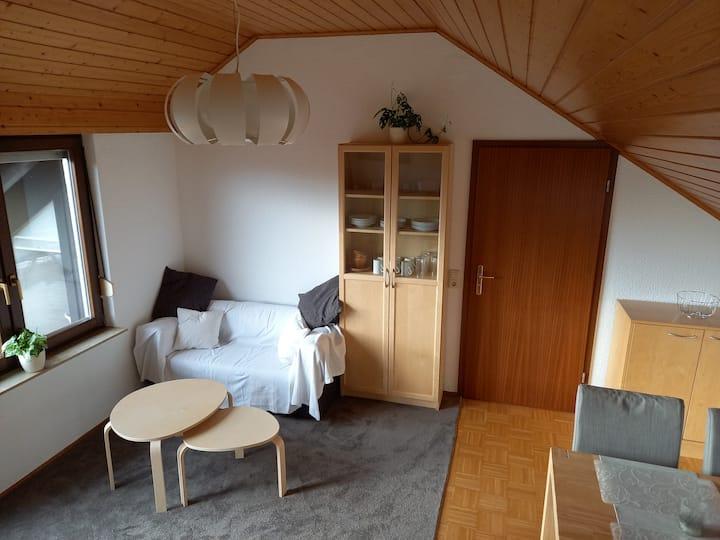 Helle 2,5-Zimmer-DG-Whg. mit großer Dachterrasse