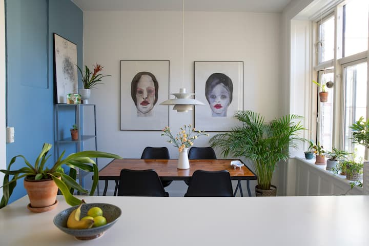 2B apartment in the best part of Nørrebro