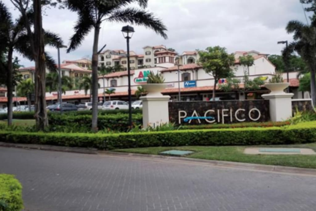 Pacifico Entrance of the property