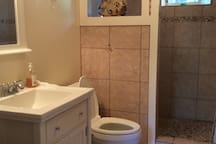 Private bathroom with shower (no tub)