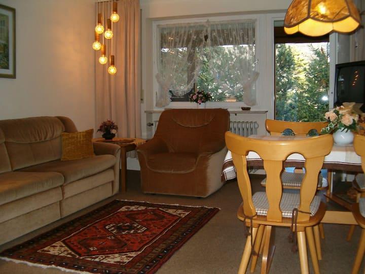 Haus am Wald, (Schönwald), Ferienwohnung 2, 62qm, 1 Schlafzimmer, max. 5 Personen