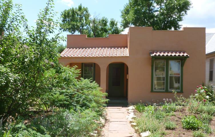 Old Colorado City 3-Bedroom Historic Home & Garden