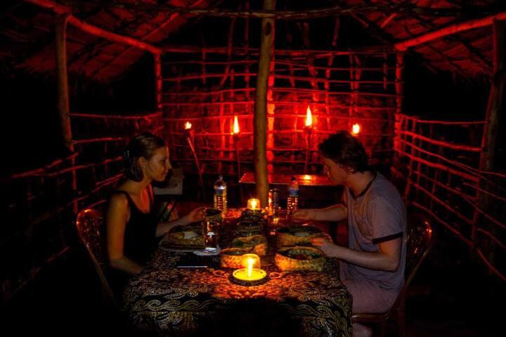 Sigiriya Camping Night