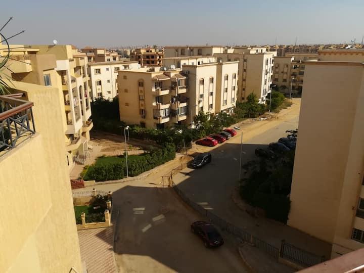 Romantic 1-Bedroom Penthouse near Cairo, Egypt