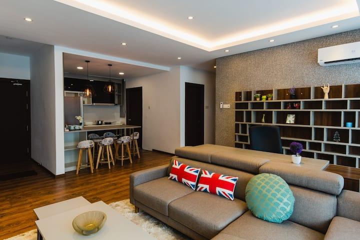 King's Suite @ Jazz 1 Vivacity Mall (3 bedroom)
