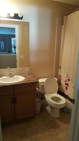 1 bedroom with private bathroom