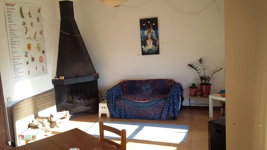 Room with Double bed in Moià