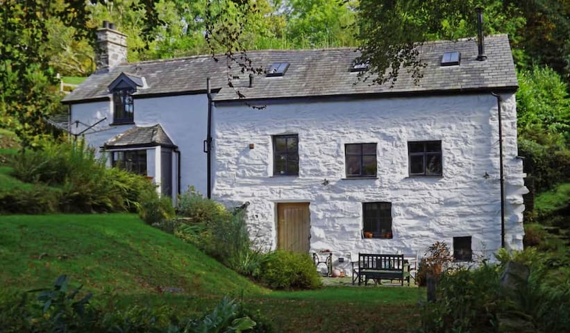 Pandy: an ancient mill in Snowdonia
