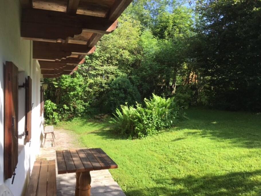 Sonniger Garten 250m2