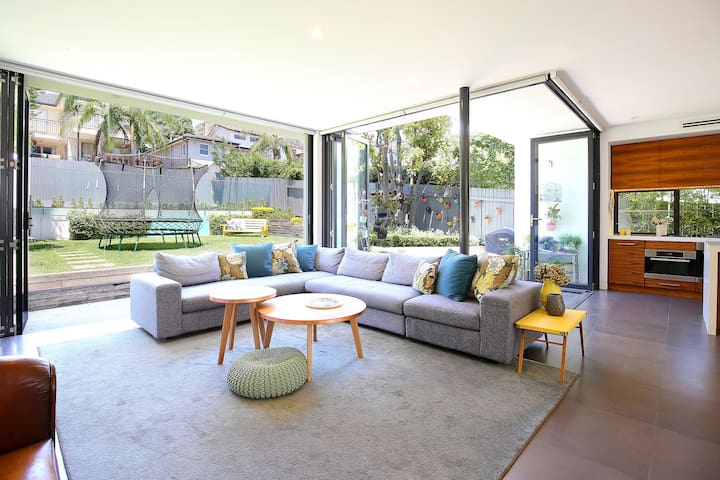 Relax in this stylish 4 bed family home with pool - Cammeray - Talo