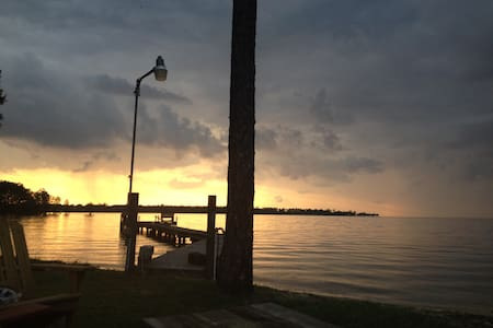 Lake Moultrie,  Lake front with private dock - Moncks Corner - Rumah