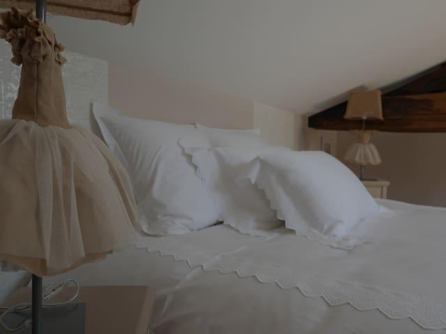 Chambre CACHEMIRE / percale de coton