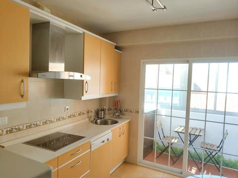 Apartamento amplio y luminoso con preciosas vistas
