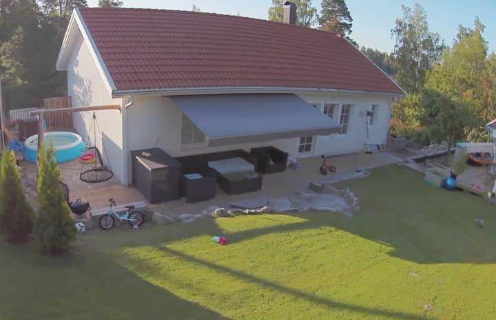 Large Villa near Mälaren and nature