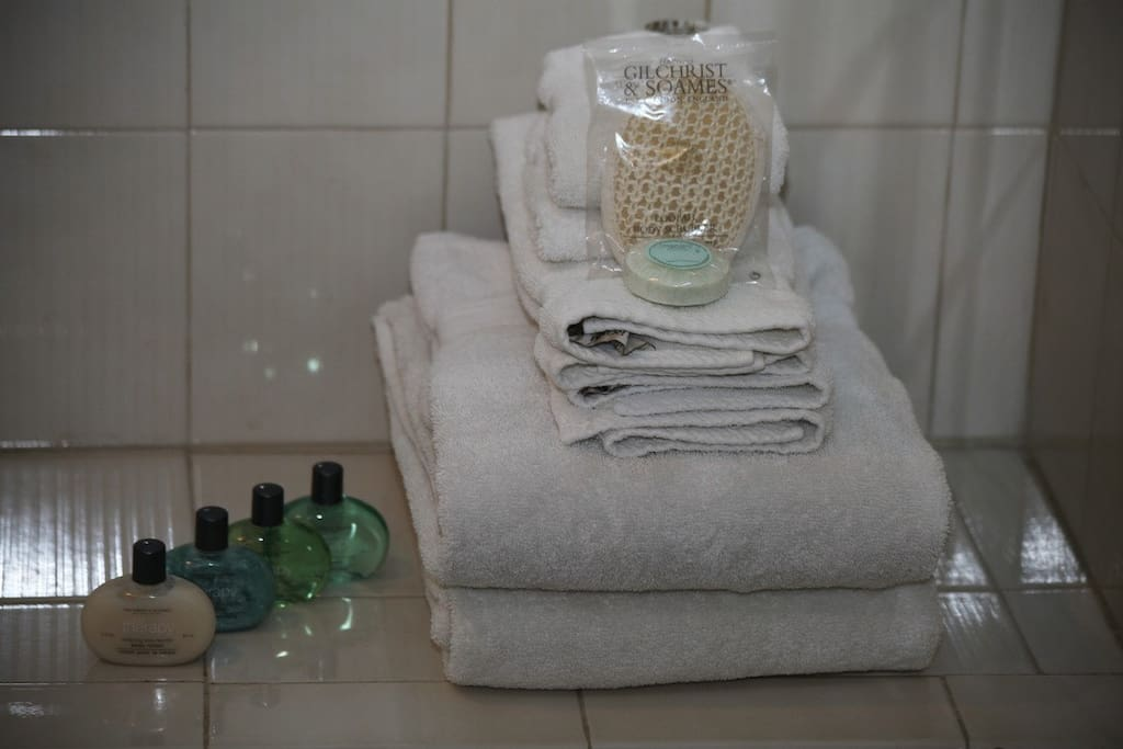 Pampering bathroom goodies for you