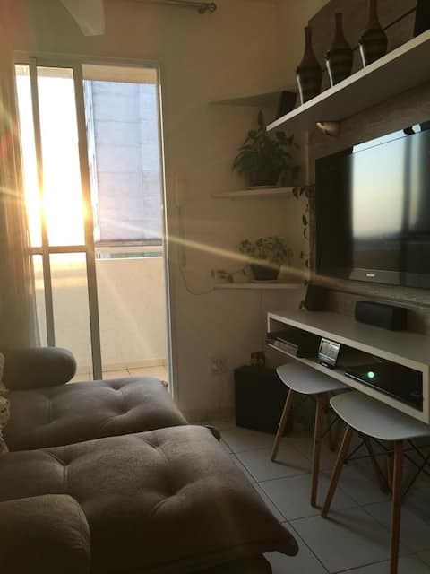 Apartamento muito Aconchegante Próximo a Praia