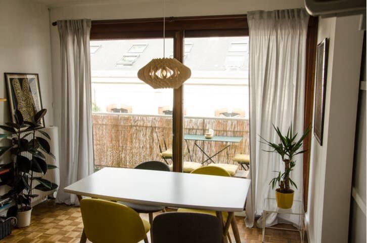Cosy and bright flat + balcony near quartier latin
