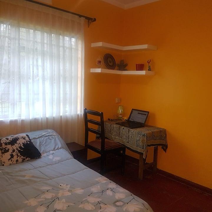 The Sunny Room close to the Nairobi CBD