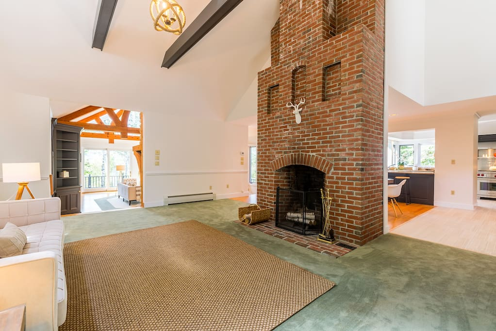 2nd Great Room with Fire Place