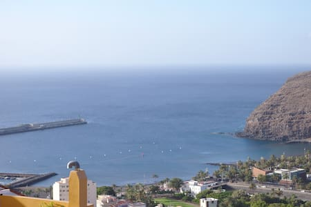 bright and spacious apartment with views - San Sebastián de La Gomera - Haus