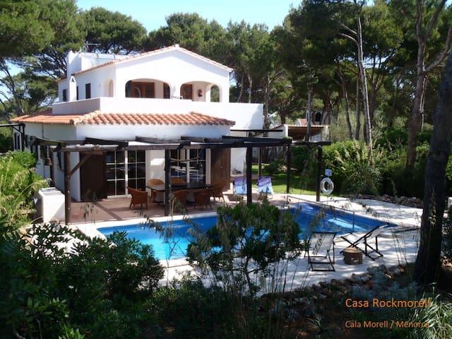 Casa Rockmorell, Cala Morell, Menorca, 10 pers. - Cala Morell - Haus