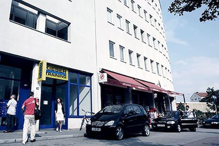 1.5 Zimmer Wohnung, Park+Einkauf - Nürnberg - Daire