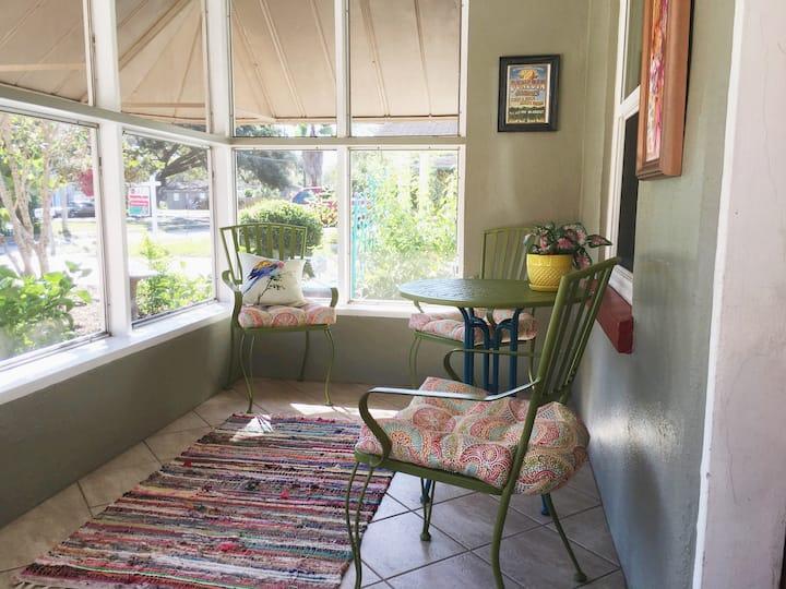 Artsy Dunedin/Clearwater Home near Pinellas Trail