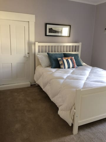 Bedroom two, with a double bed.