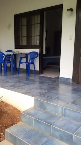 appartement avec sa terrasse individuelle