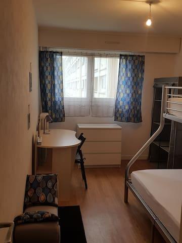 1 chambre pour 1 personne