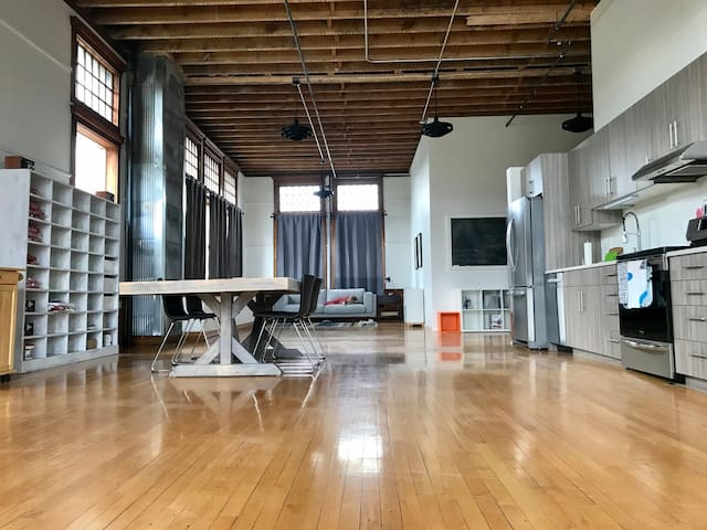 RENOVATED HISTORIC LOFT IN ORIGINAL SCHOOLHOUSE