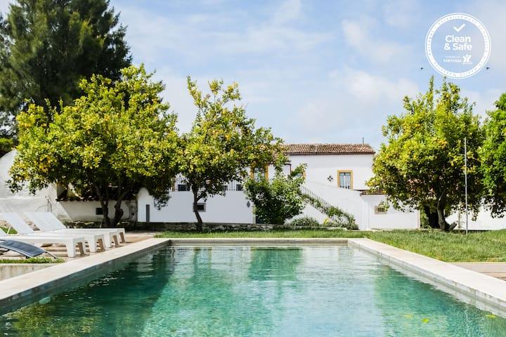 Casa dos Condes - Alentejo- Swimming Pool & Garden