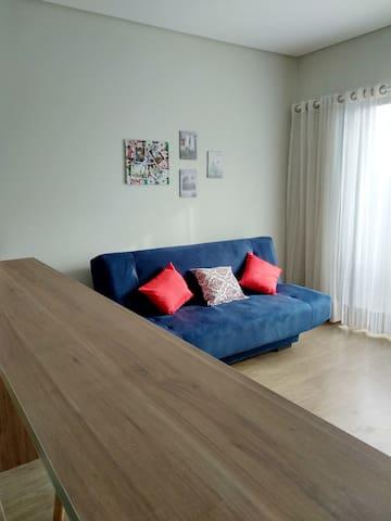 Apartamento 1 quarto - Excelente Localização BHTC