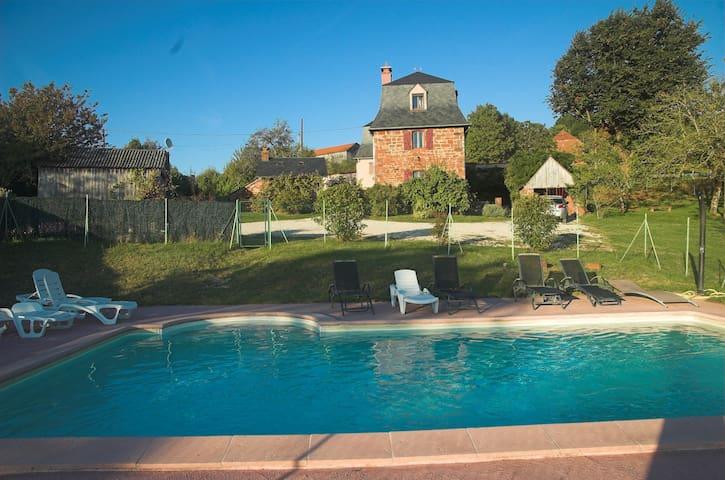 Le Pré Collonges - Maison avec piscine (4 étoiles)