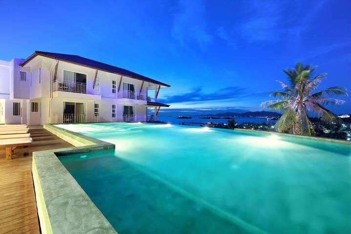 Penthouse Apartment overlooking Big Buddha Bay - Ko Samui - Condominium