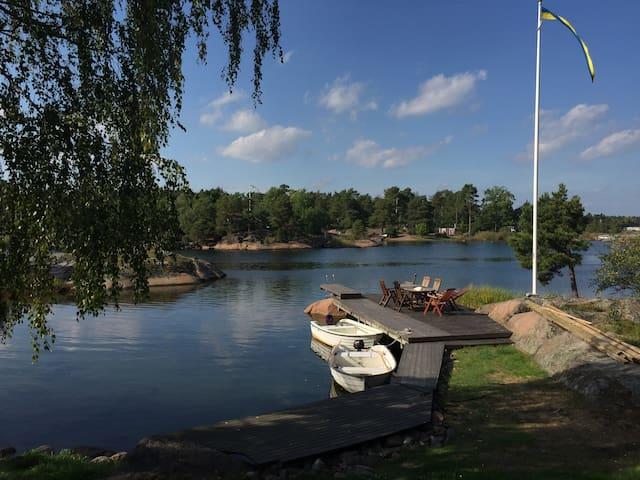 Egen ö i den vackra svenska skärgården - Oskarshamn S - 度假屋