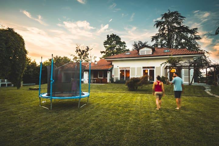 Casa Danoi-Villa'60 ristrutturata in Parco privato