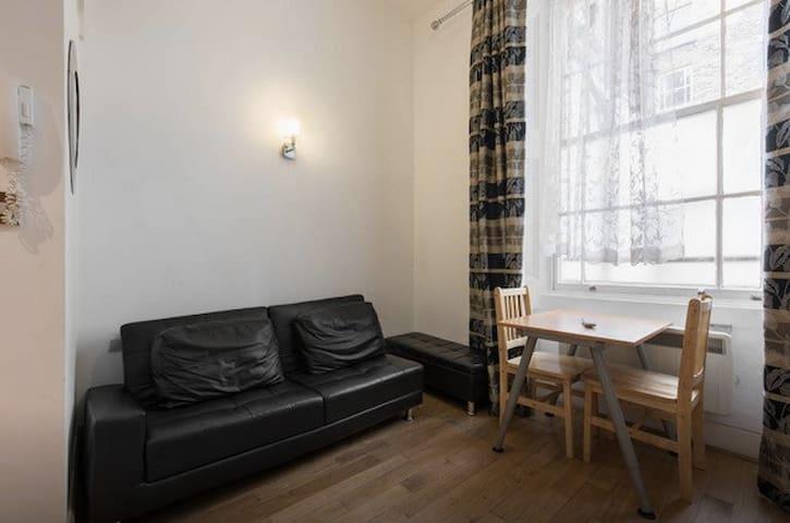 Luminoso apartamento estudio junto a Hyde Park HG2