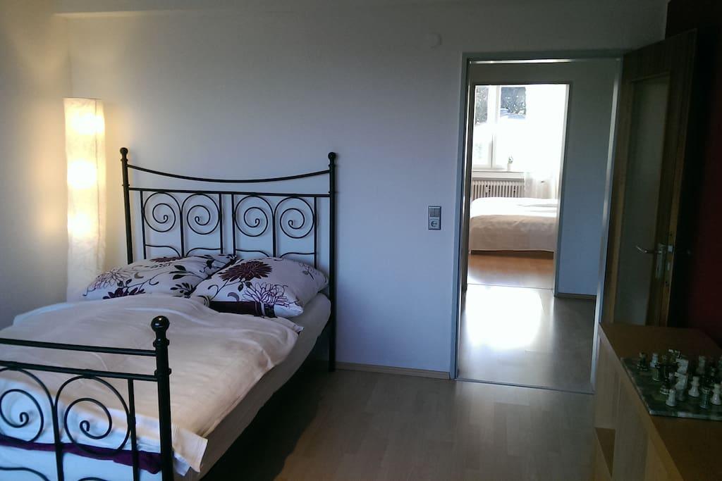 """Room """"Rathaus"""" and room """"Lousberg"""" vis à vis."""