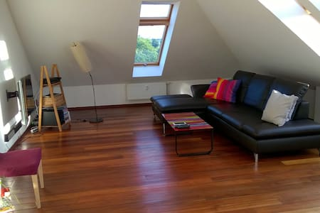Sunny loft with two floors and roof terrace - Hannover - Wohnung